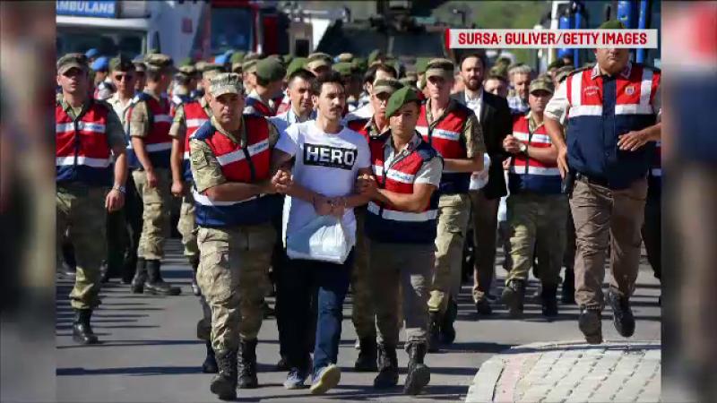erdogan, turcia, uniforme, inculpati,