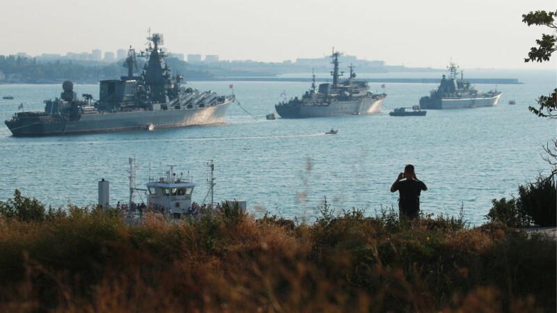 nave rusesti in Marea Neagra