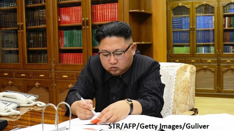 Kim Jong-un - AFP/Getty