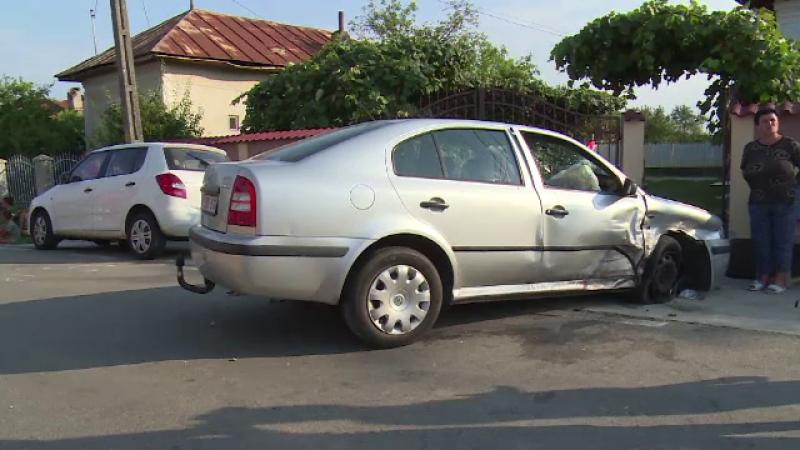 Accident în Dâmbovița