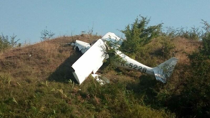 avion prabusit in Tatarusi