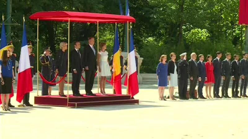 Emmanuel Macron, Klaus Iohannis