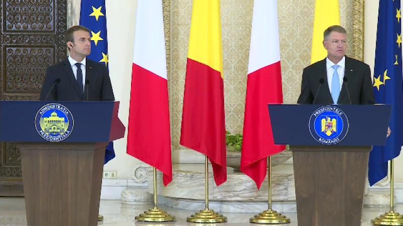 Macron, Iohannis