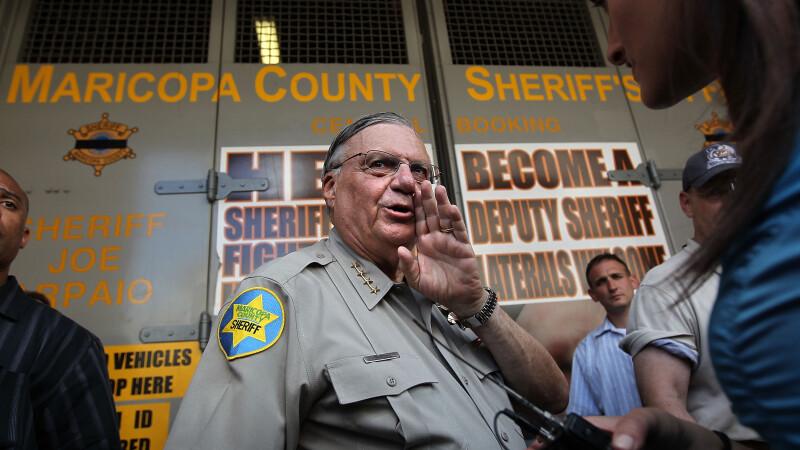 Controversatul șerif Joe Arpaio, grațiat de Donald Trump