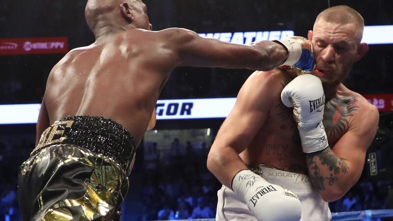 Mayweather vs McGregor. Floyd l-a învins pe irlandez prin KO. VIDEO