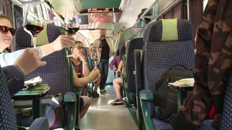 tren, transilvania,