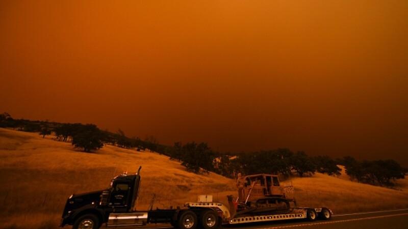 incendii Lakeport, california