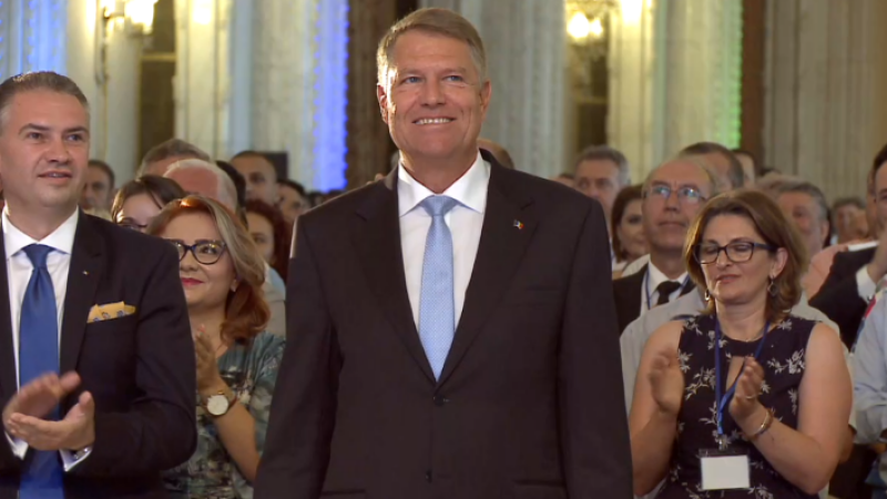 Klaus Iohannis la PNL