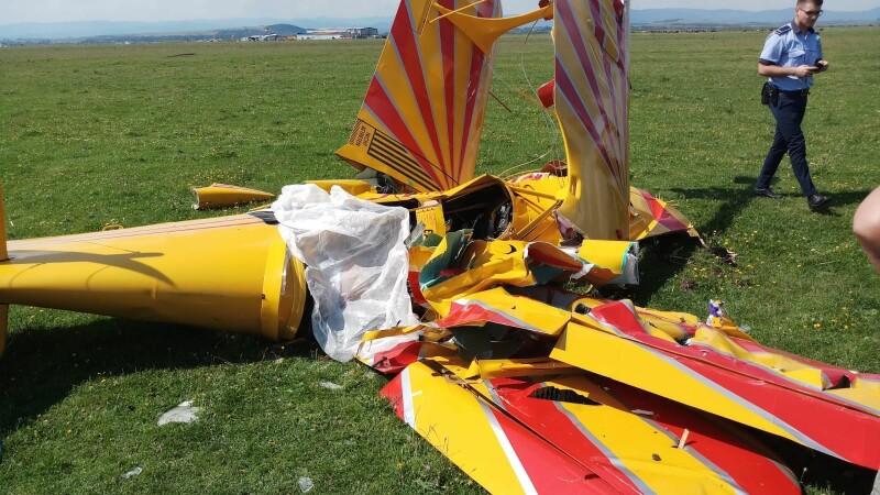 accident aviatic suceava