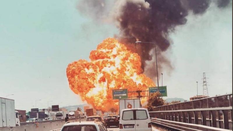 Explozie in Bologna