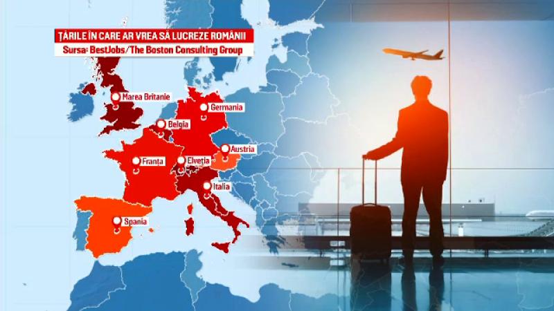 Neoficial, 5 milioane de români sunt plecaţi în străinătate. Topul țărilor preferate pentru muncă