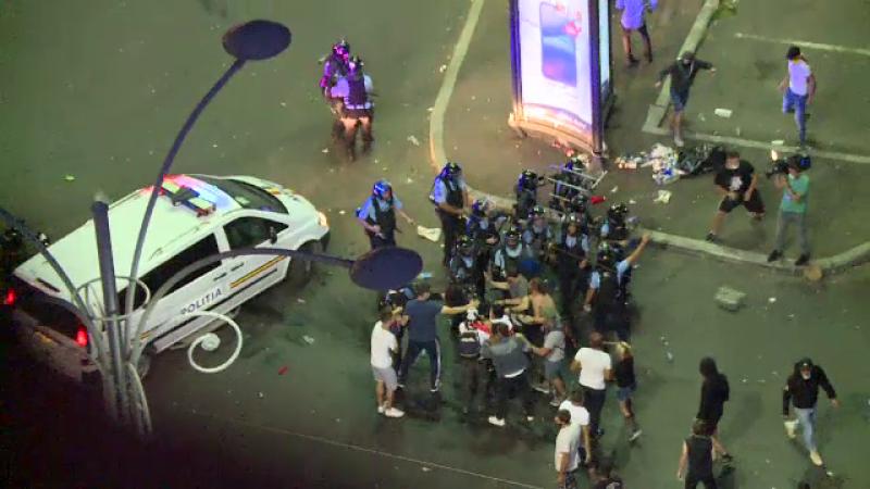 violente proteste