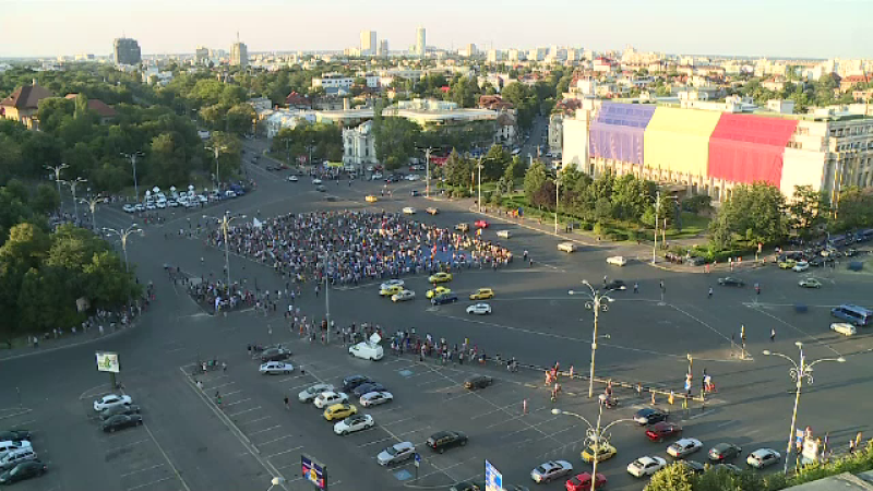 Protest Piata Victoriei duminica