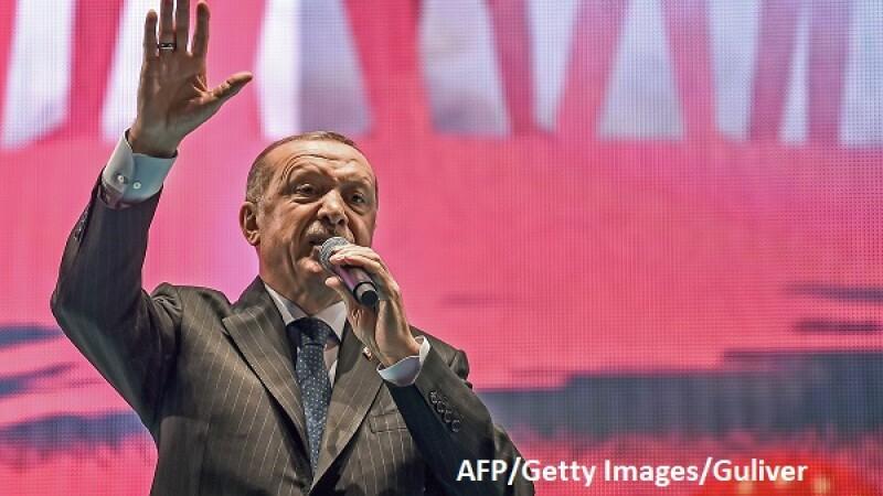Recep Tayyip Erdogan - AFP/Getty
