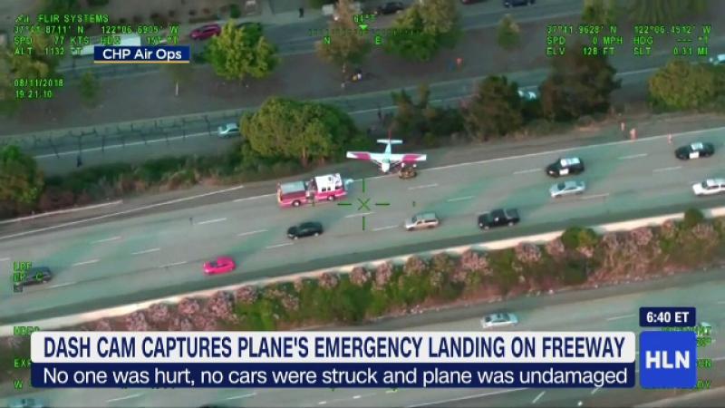 Aterizare avion autostrada