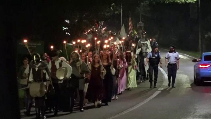 Festivalul de Artă Medievală. 500 de participanți s-au întâlnit la Suceava