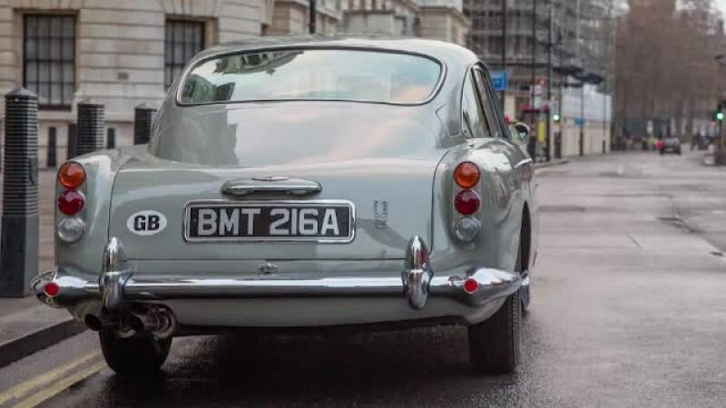 masina, James Bond