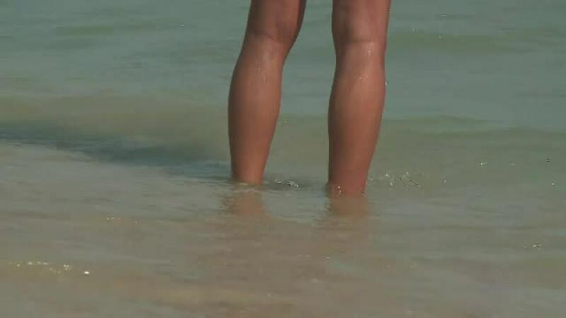 plaja nudisti Litoral