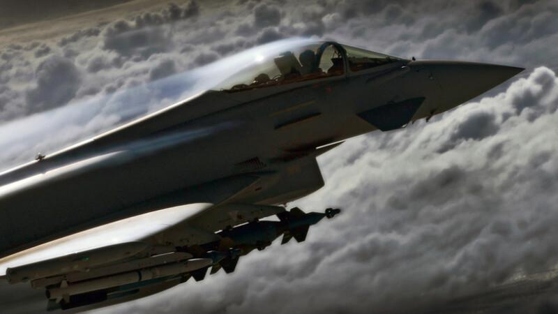 Royal Air Force RAF Typhoon Eurofighter