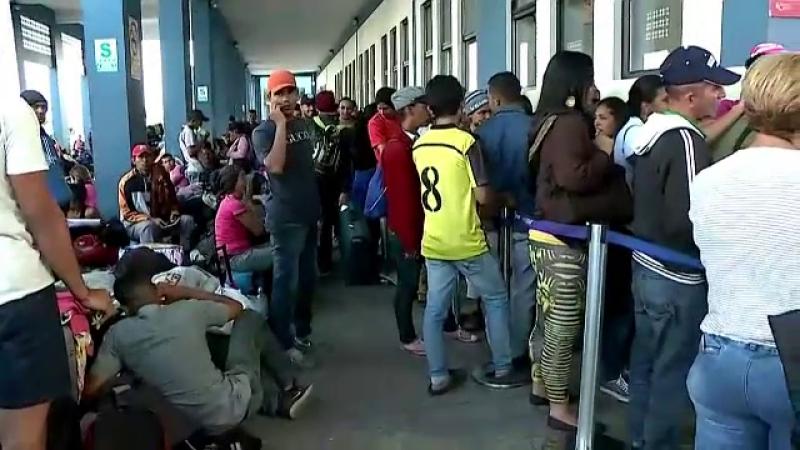 migratie venezuela