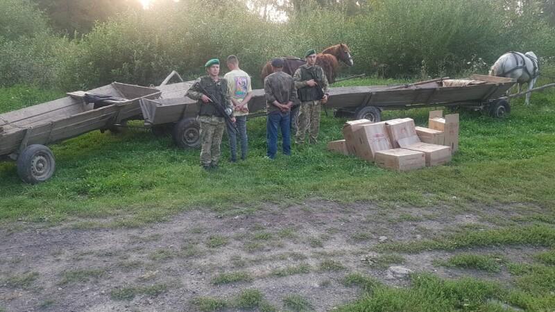 caravana de carute ucraina