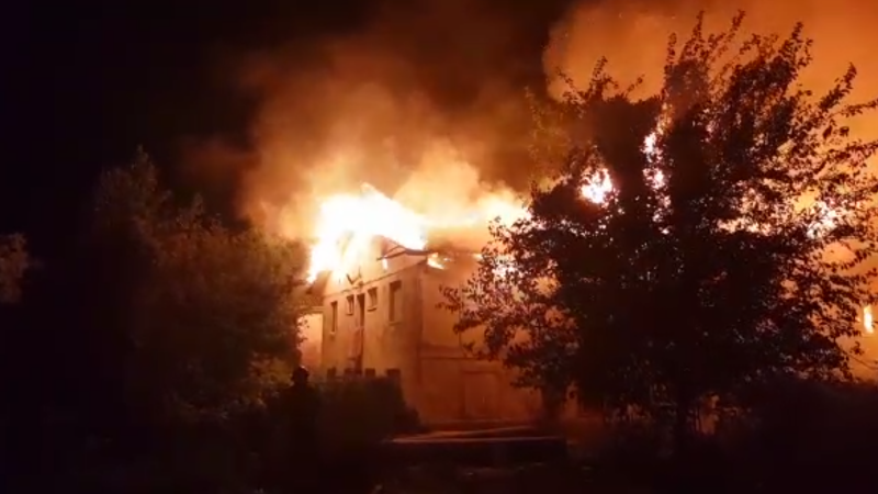 incendiu Cernavodă