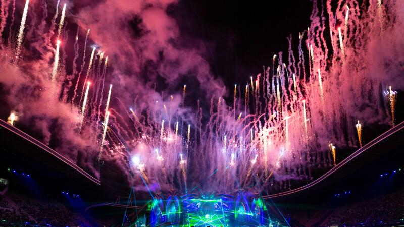 Spectacol impresionant la deschiderea Festivalului UNTOLD