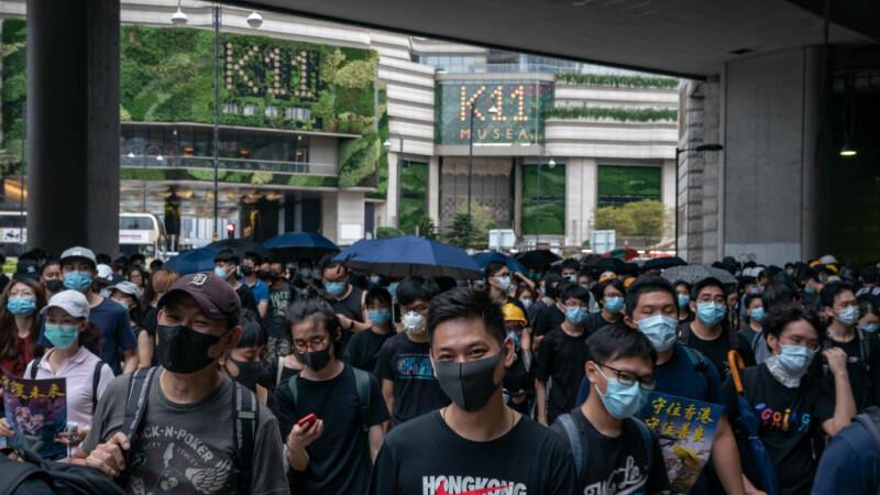 Protestatarii din Hong Kong, din nou în stradă în ciuda avertismentelor chineze - 2