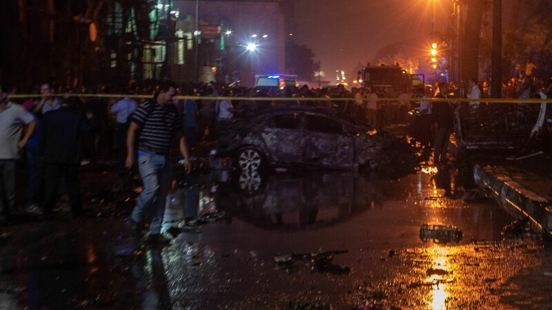Explozie în Cairo