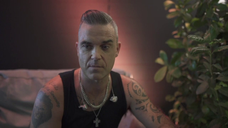 Robbie Williams, după festivalul Untold: