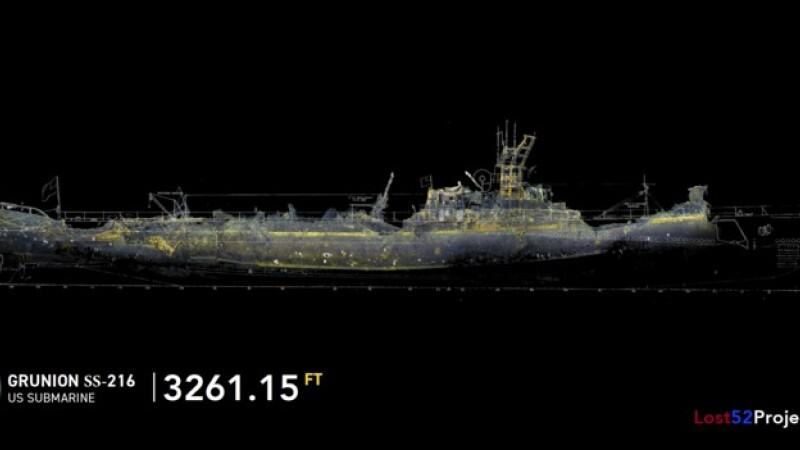 Submarin din al Doilea Război Mondial, dispărut în prima sa misiune, găsit după 80 de ani - 1