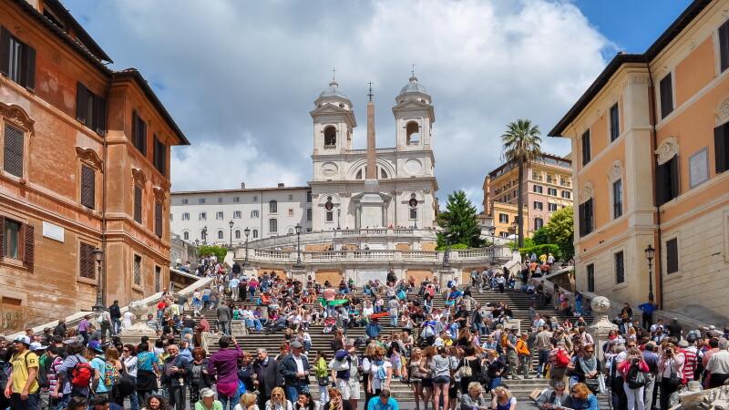 Treptele Spaniole din Roma - 5
