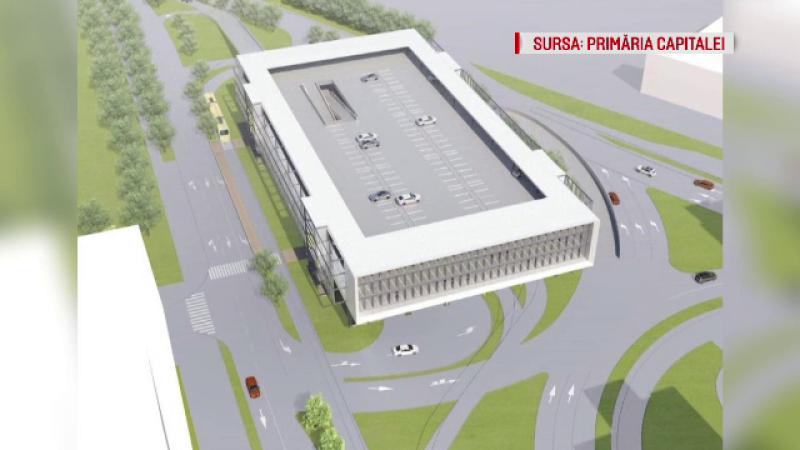 """Primăria Capitalei anunță că încep lucrările pentru parcarea """"park & ride"""" Pantelimon"""