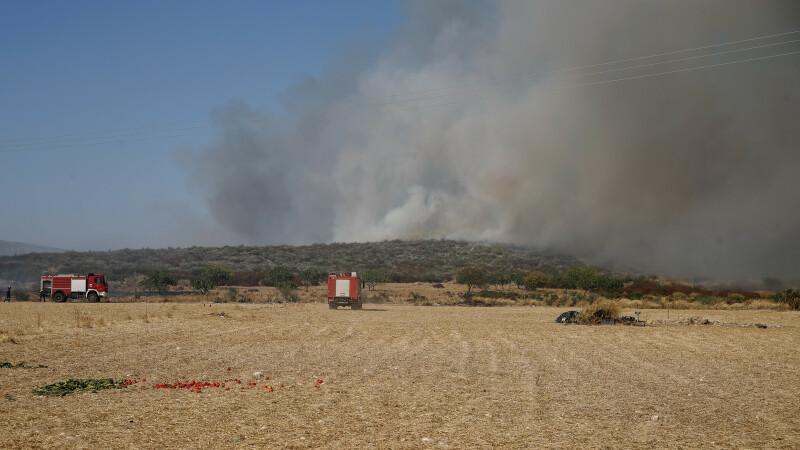 incendiu la Marathon, Grecia