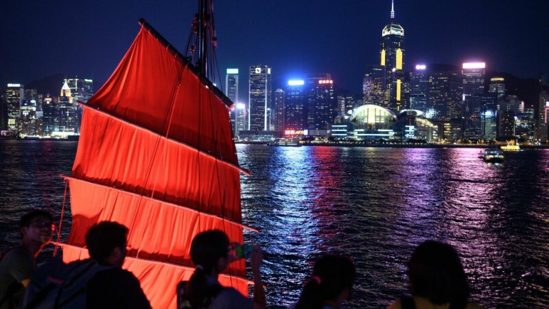 Portul din Hong Kong