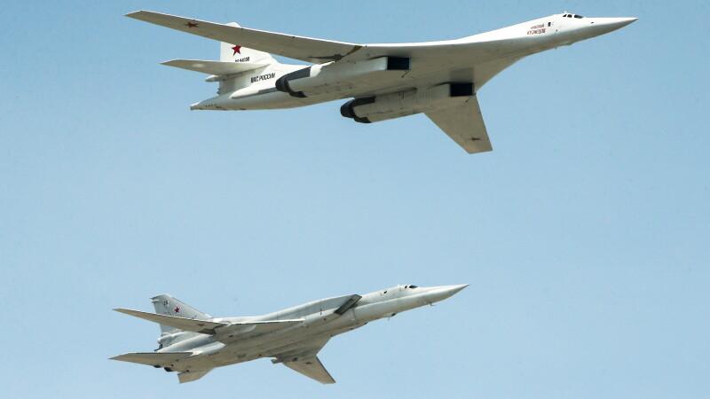 Bombardiere rusești tupolev
