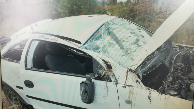 Accident grav pe DN7