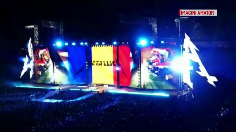 """Recordul stabilit de Metallica pe Arena Națională. """"Este ceva incredibil"""""""