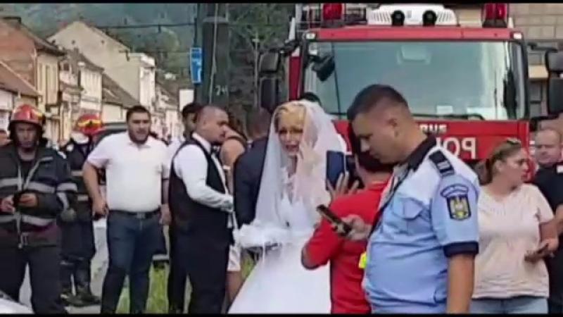 Nunta cu final dureros pentru un tânăr din Reşita