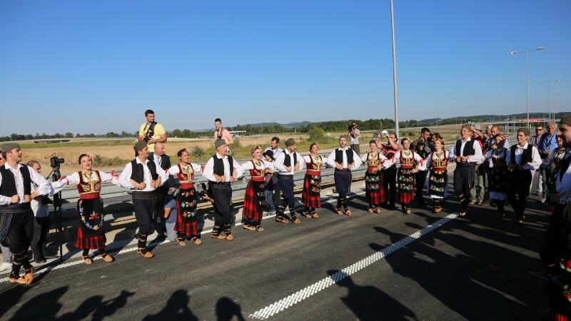 inaugurare autostrada Serbia