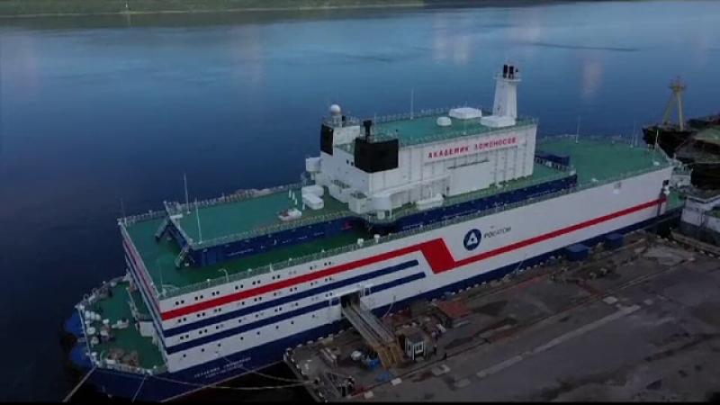centrala nucleara plutitoare Rusia