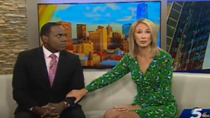 Afirmația scandaloasă pentru care o prezentatoare TV a cerut iertare în direct, în lacrimi