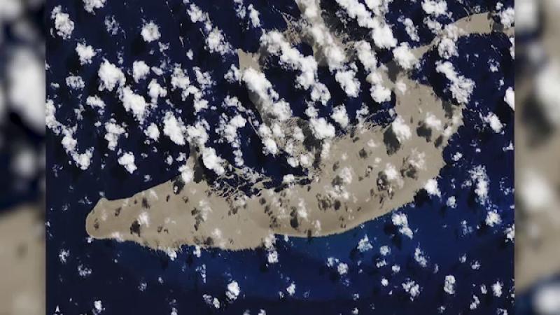 Insula plutitoare NASA