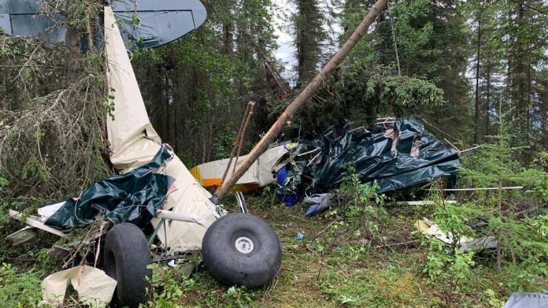 incident aviatic in Alaska