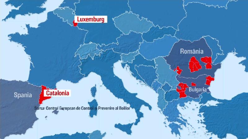 România roșie. Europa nu ne mai primește, dar noi continuăm să încălcăm regulile de protecție