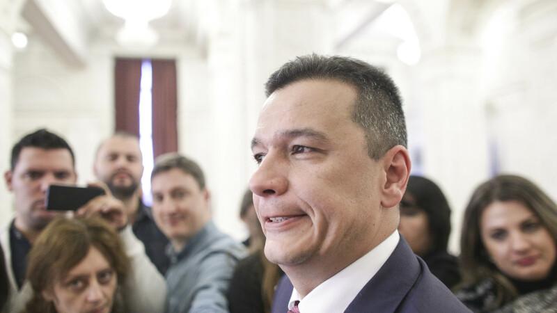 Sorin Grindeanu: Cine nu se prezintă sau votează invers la moţiune nu mai face parte din echipa PSD