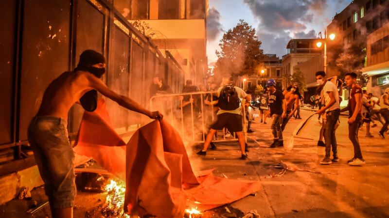 Protest în Beirut