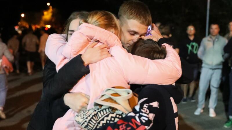 Revedere pentru un cuplu de protestatari în Belarus