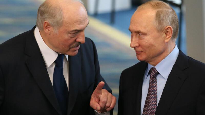 Lukaşenko a vorbit cu Putin: Dacă Belarusul nu rezistă, ''valul'' va ajunge până în Rusia