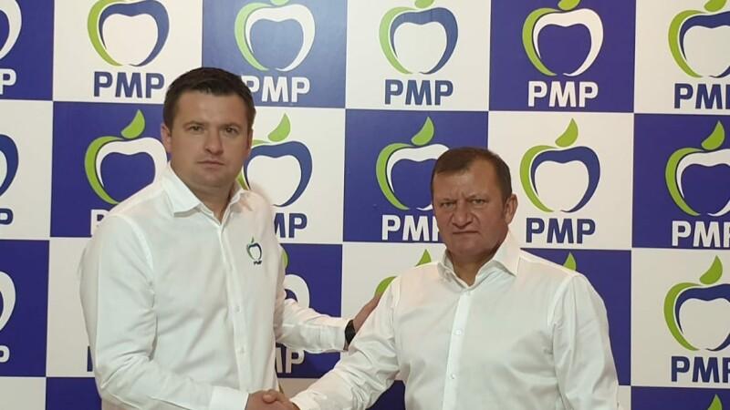 Fostul internațional Dorinel Munteanu deschide lista PMP de candidați la Consiliul Local Galați